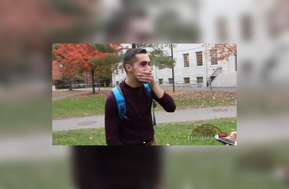 VIDEO: Harvardi tudengid ei oska vastata küsimusele, mis on Kanada pealinn