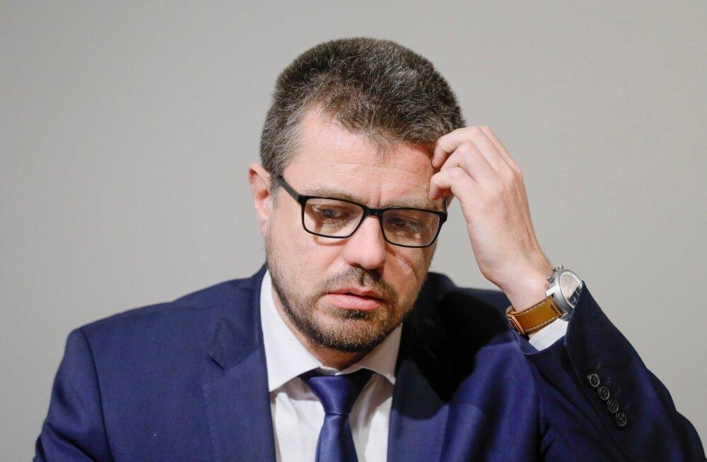 Justiitsminister Urmas Reinsalu