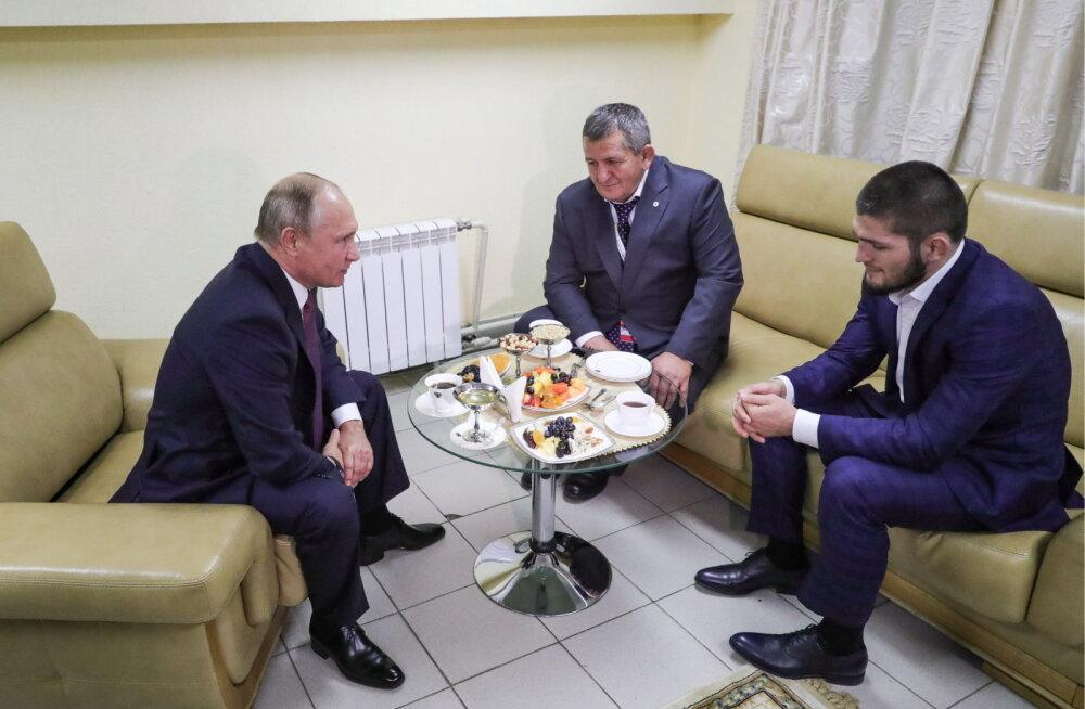 Vladimir Putin avaldas taas koomasse viidud Habib Nurmagomedovi isale toetust
