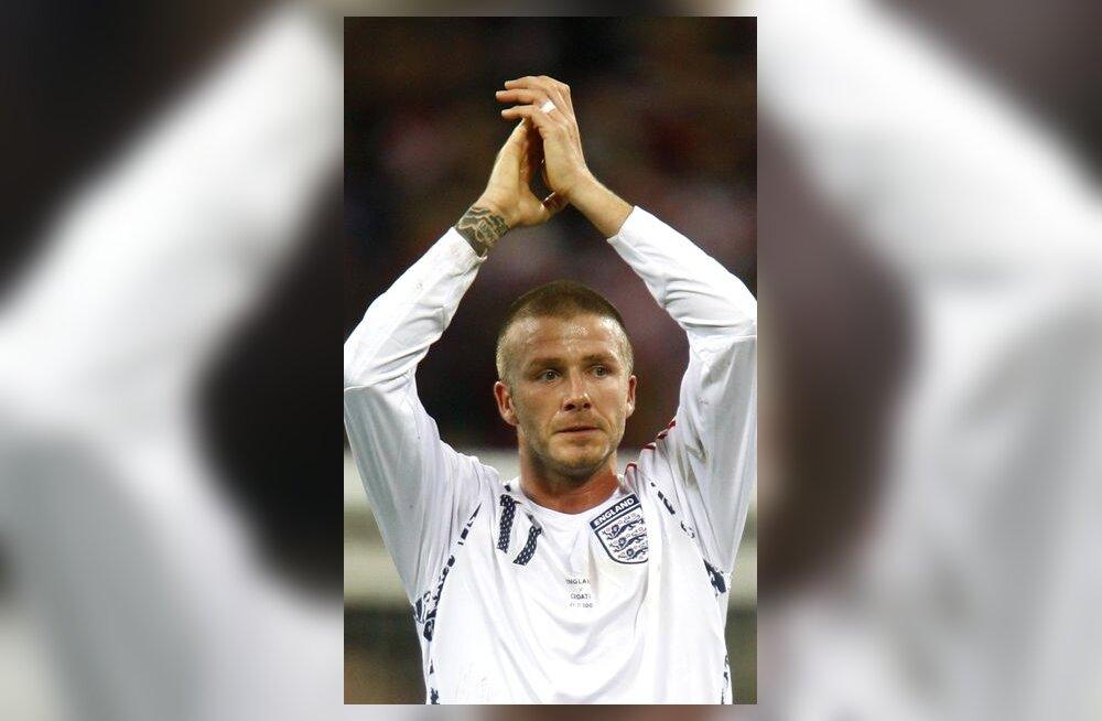 David Beckham pärast kaotust Horvaatiale