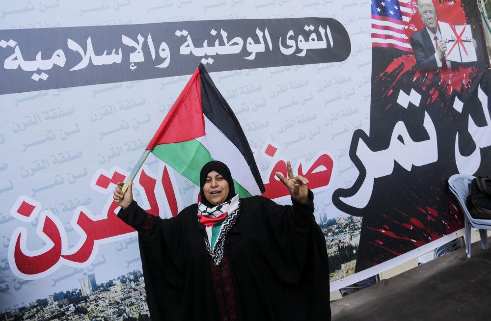 Trump tegi ettepaneku luua iseseisev Palestiina riik