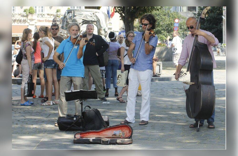 Brüsseli tänavamuusikud