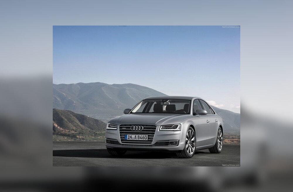 Audi avaldas uuendatud sedaani A8