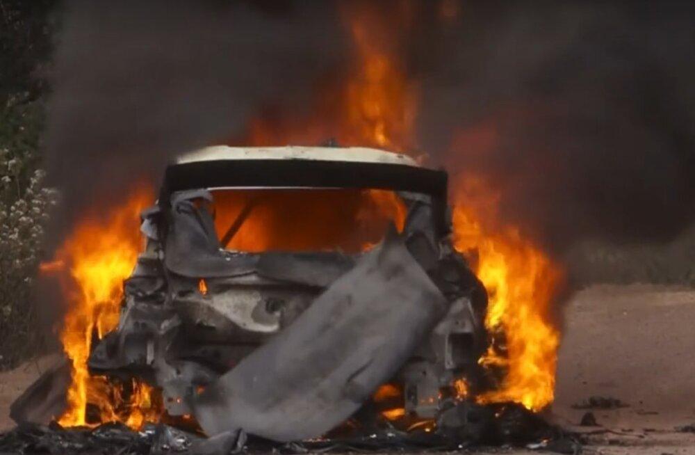 M-Spordi boss: ilmselt ei saa me Lappi auto põlengu põhjust kunagi teada