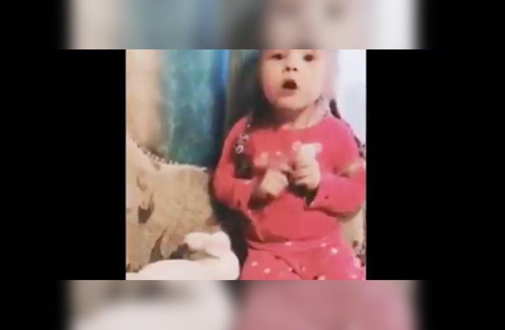 VIDEO | Väike tüdruk paneb paika: kõigis probleemides on süüdi hüsteerilised naised!