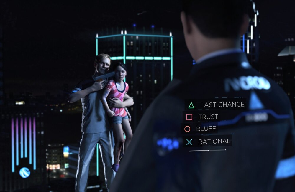 FORTE ARVUSTUS | Detroit: Become Human – emotsioonidel mängiv videomäng