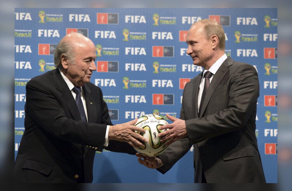 Blatter ja Putin
