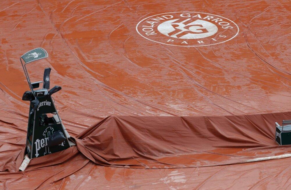Viis mängijat jäävad French Openilt positiivse koroonaproovi tõttu eemale