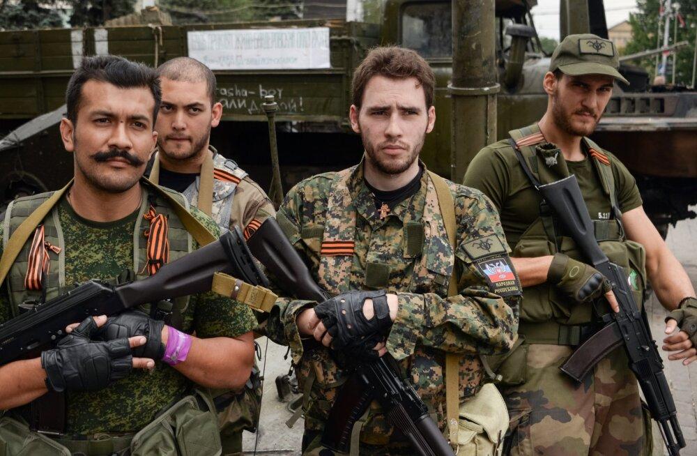 Lekkinud dokumendid: Donbassis käis Ukraina vastu võitlemas kümneid Prantsuse neonatse
