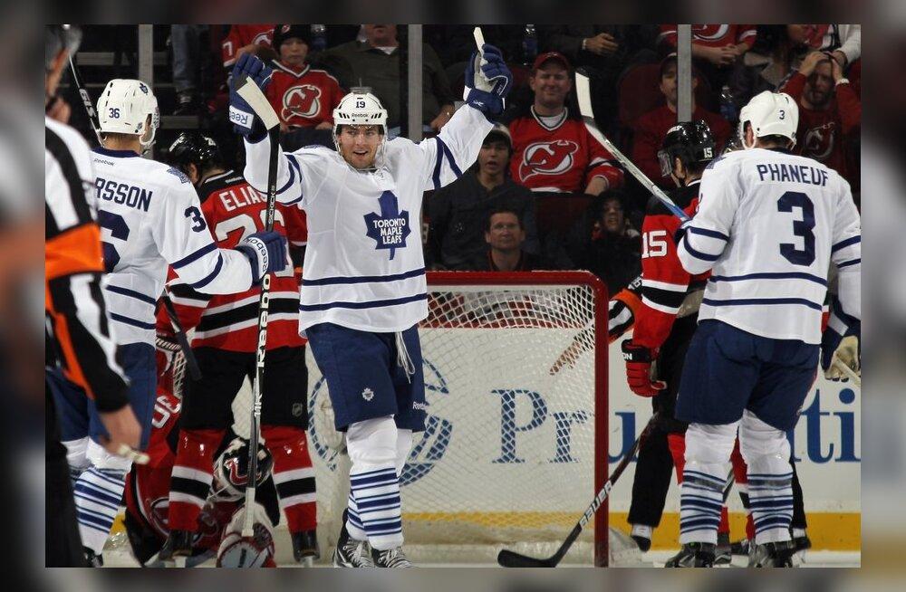 Joffrey Lupul on visanud järjekordse värava, NHL, jäähoki