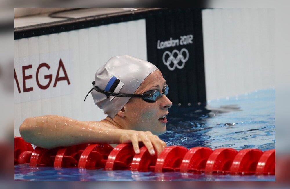 Triin Aljand, ujumine