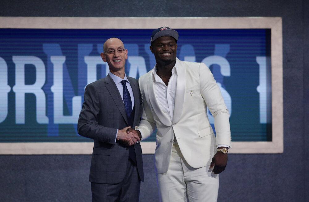 NBA draftis tehti Jaapani korvpalliajalugu, esimeses valikus üllatust ei olnud