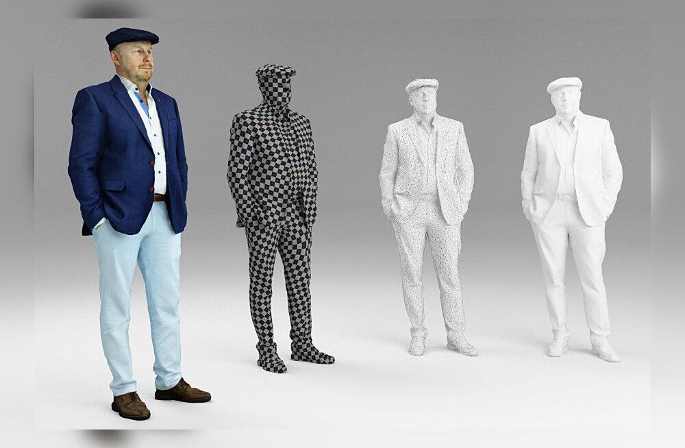 Ideid nädalavahetuseks: mine lase endast 3D-prinditud mudel luua
