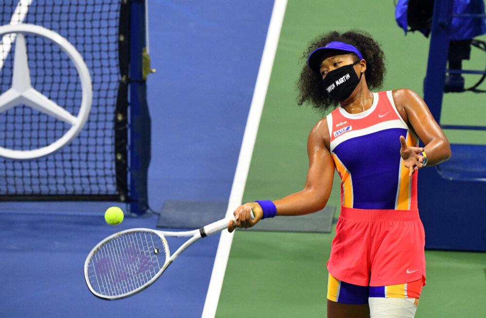 Osaka Djokovici US Openilt eemaldamisest: korralik äratuskell meile kõigile