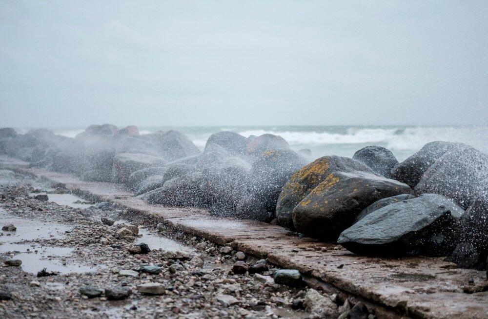 Завтра на побережье Эстонии обрушится ураганный ветер. После чего похолодает