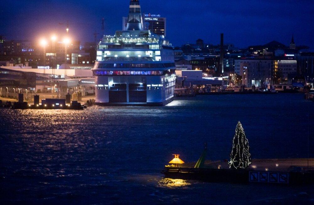 Tallinna sadama jõulukuusk