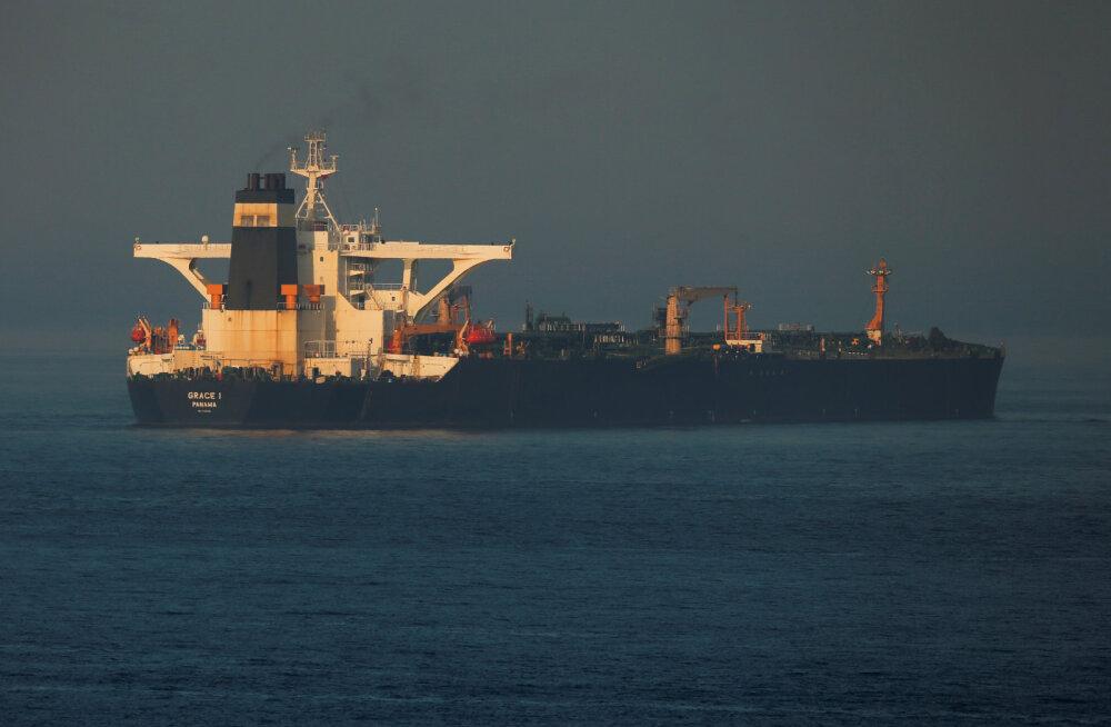 Gibraltaril arestitud Iraani tanker pidi vabanema, aga nüüd taotleb selle arestimist USA
