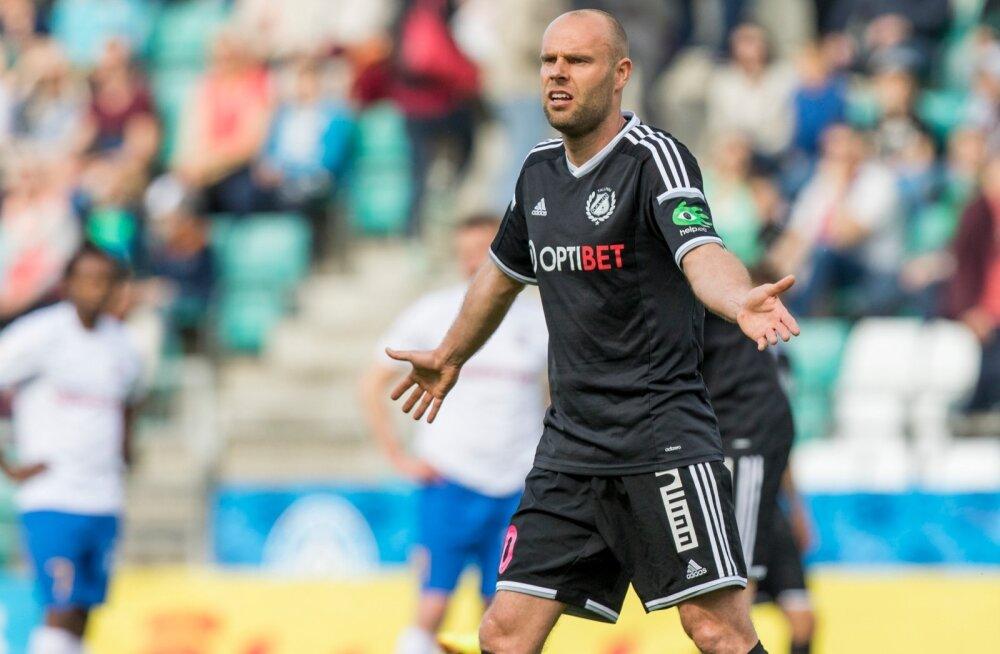 Nõmme Kalju jalgpallimeeskond kindlustas endale järgmiseks aastaks koha eurosarjas, tulles 2:0 võiduga Paide Linnameeskonna üle Eesti karikavõitjaks.