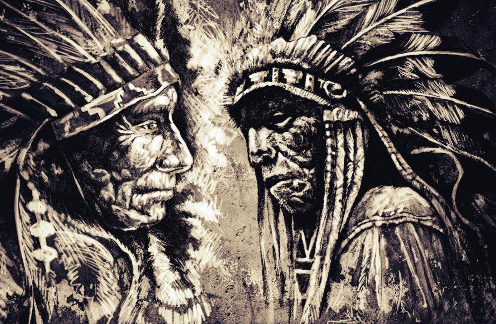 Indiaanlaste peakatted ja suled: olulised tseremoniaalsed mehe au ja vapruse sümbolid