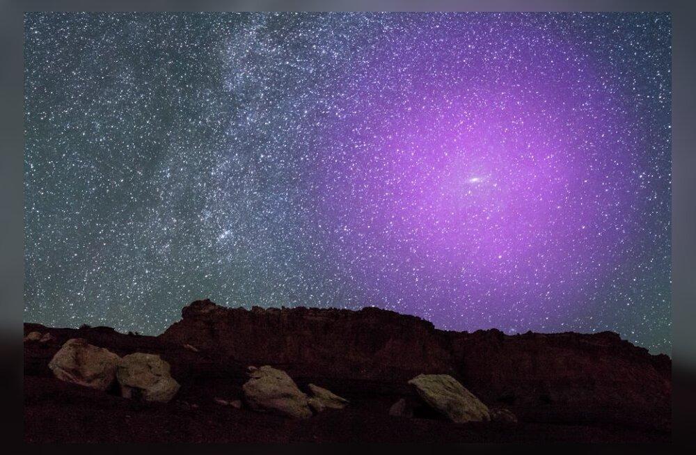 Meie kodu sihikul: Linnutee ja Andromeeda galaktikate kokkupõrge on juba alanud