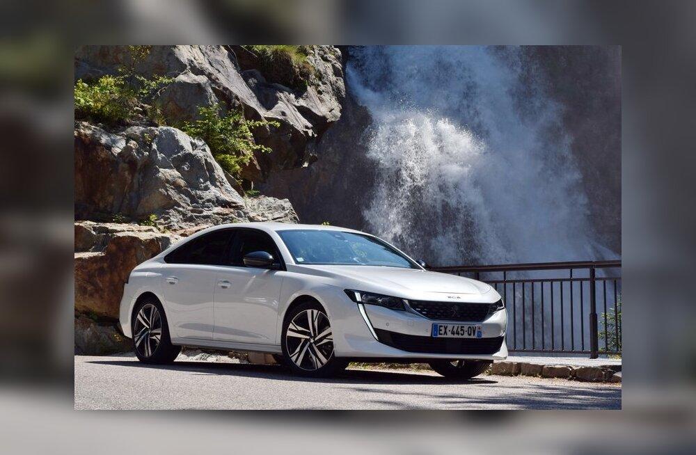 WHATCAR? TESTIB | Peugeot 508 - detailides lihvitud tervik