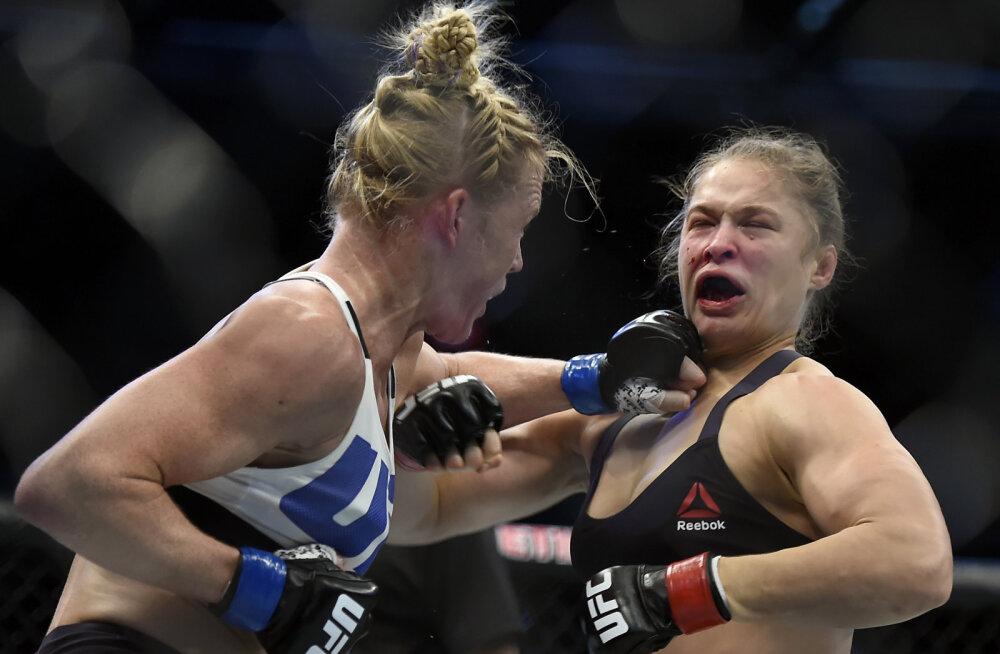 Nokauti löödud Ronda Rousey: läheb ilmselt pool aastat, enne kui õuna saan süüa