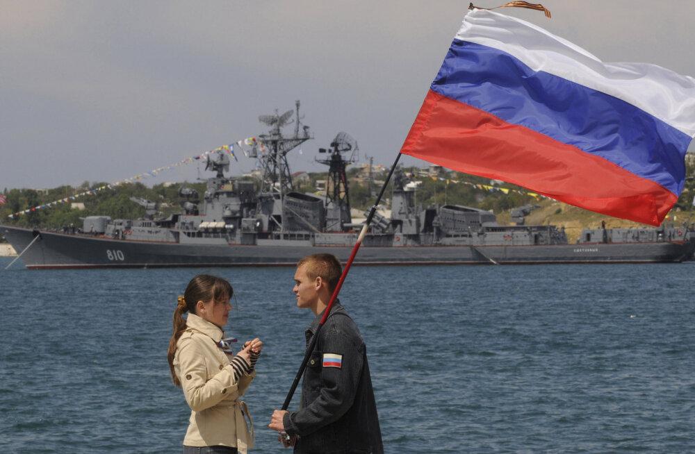 Venemaa mereväealuselt tulistati Egeuse merel hoiatuslaske Türgi laeva suunas