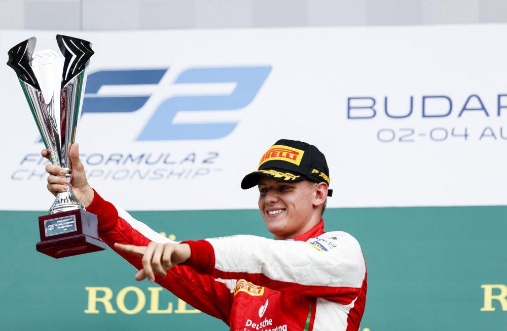 VIDEO | Mick Schumacher avas vormel 2 sarjas võiduarve