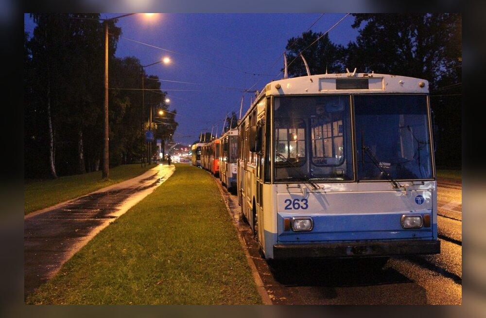 Kas trollibussil on tulevikku?
