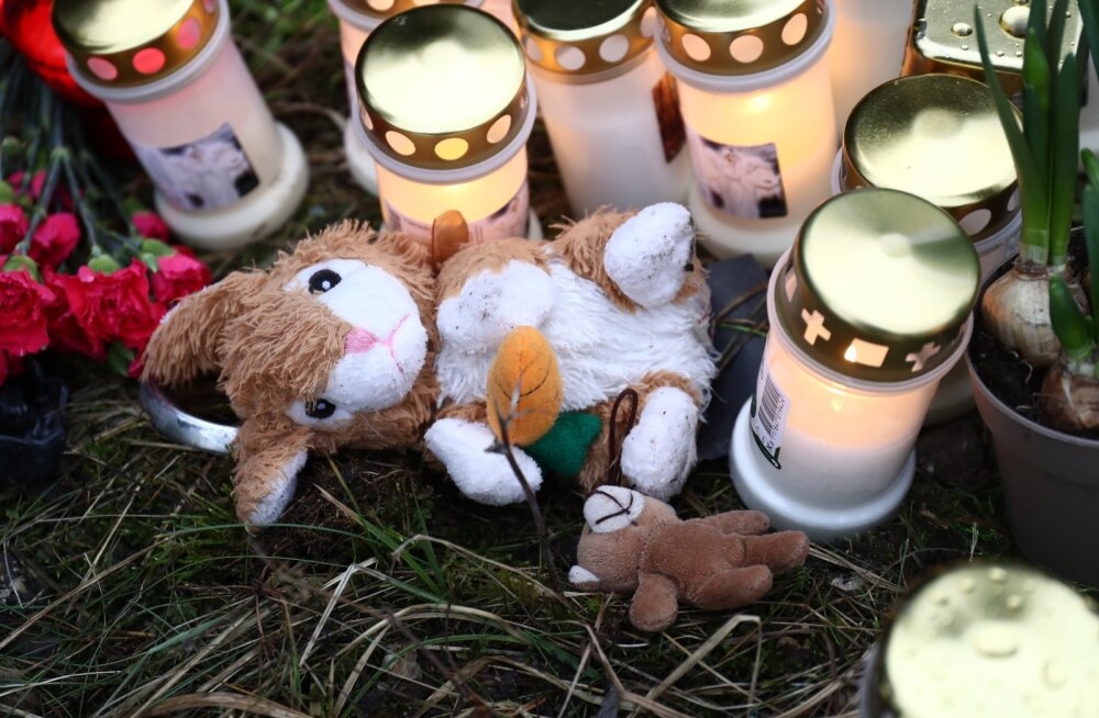 Traagilise liiklusõnnetuse sündmuspaik Saaremaal