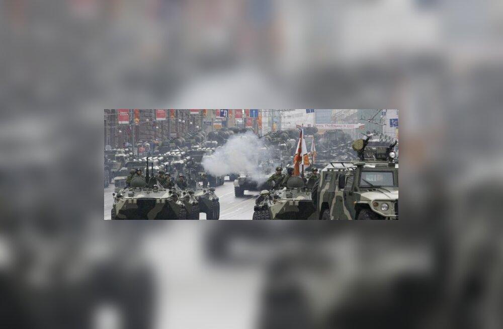 Moskvas 9000 osalejaga võiduparaadi peaproov