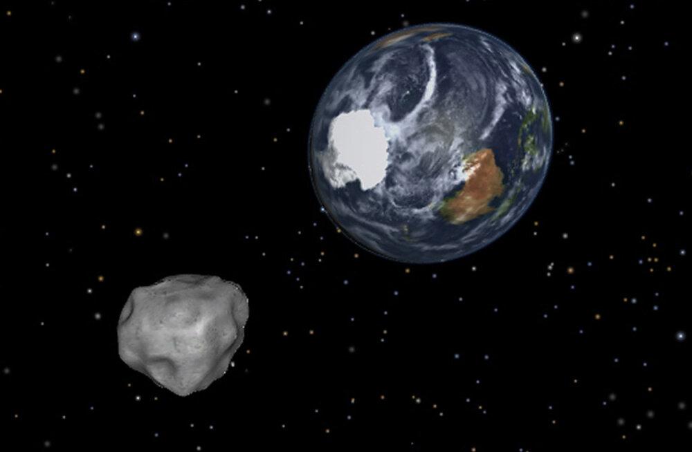 Selle nädala põhiküsimus: mis juhtuks, kui Maad tabaks asteroid?