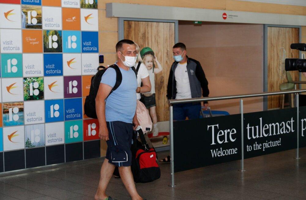 Часть прибывших на работу в Эстонию украинцев не соблюдали двухнедельный карантин
