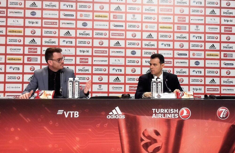 Dimitrios Itoudis poolfinaali järgsel pressikonverentsil