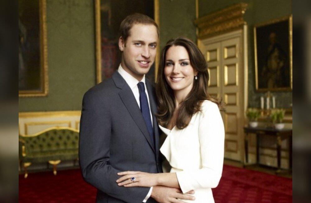 William ja Kate saavad säästupulmad