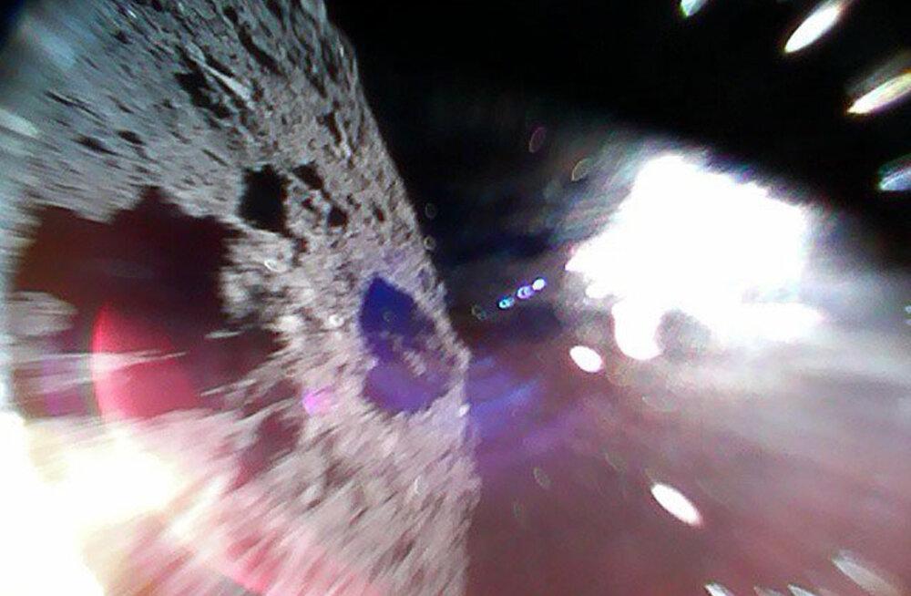 Tehtud: esimese eduka asteroidil maandumise korraldasid jaapanlased