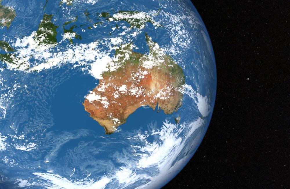 Austraalia liigub nii kiirelt põhja suunas, et maakaardid ja GPS on juba ebatäpsed