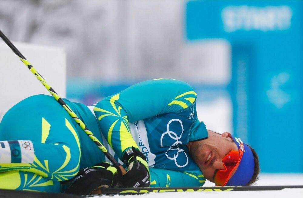 Aleksei Poltoranin Pyeongchangi olümpial