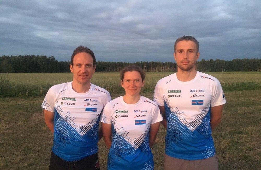 Rattaorienteerumise EM-i ajaloolises segateatesõidus sai Eesti 10. koha