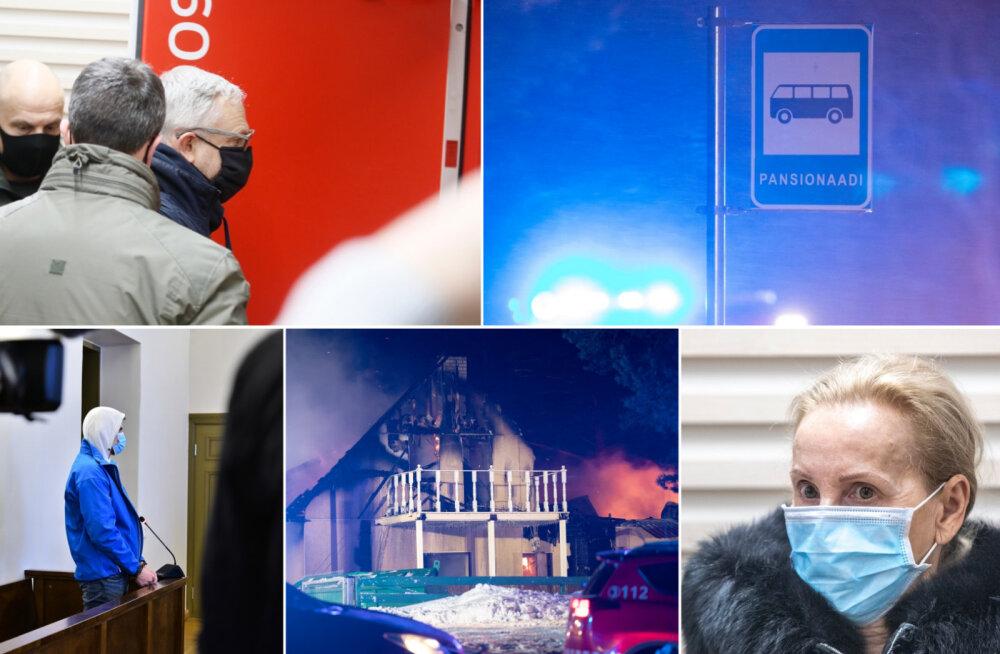 ÜLEVAADE | Nädala raputavaimad krimisündmused: traagiline tulekahju, korruptsioon ja tapmised