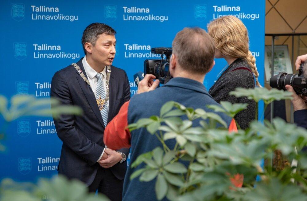 Mihhail Kõlvarti valimine Tallinna linnapeaks
