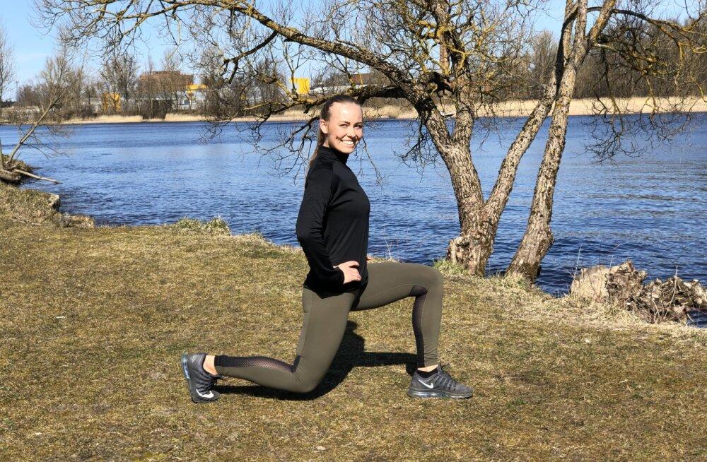 TREENINGVIDEO: Treener Alis näitab harjutusi, millega vormid endale kaunid jalad ja pringid tuharad