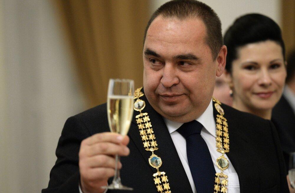 """Luhanski """"rahvavabariigi"""" juht sai plahvatuses rängalt viga"""