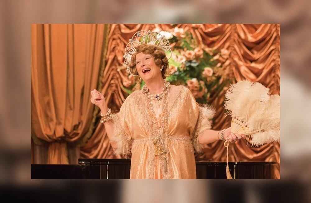 """ARVUSTUS: Meryl Streepi laululinnu koomilised aariad tõsielulises filmis """"Florence Foster Jenkins"""""""