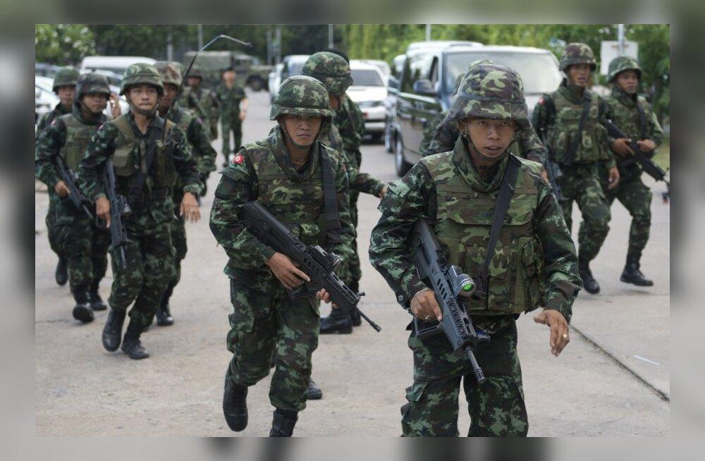 Tai armee kuulutas välja riigipöörde