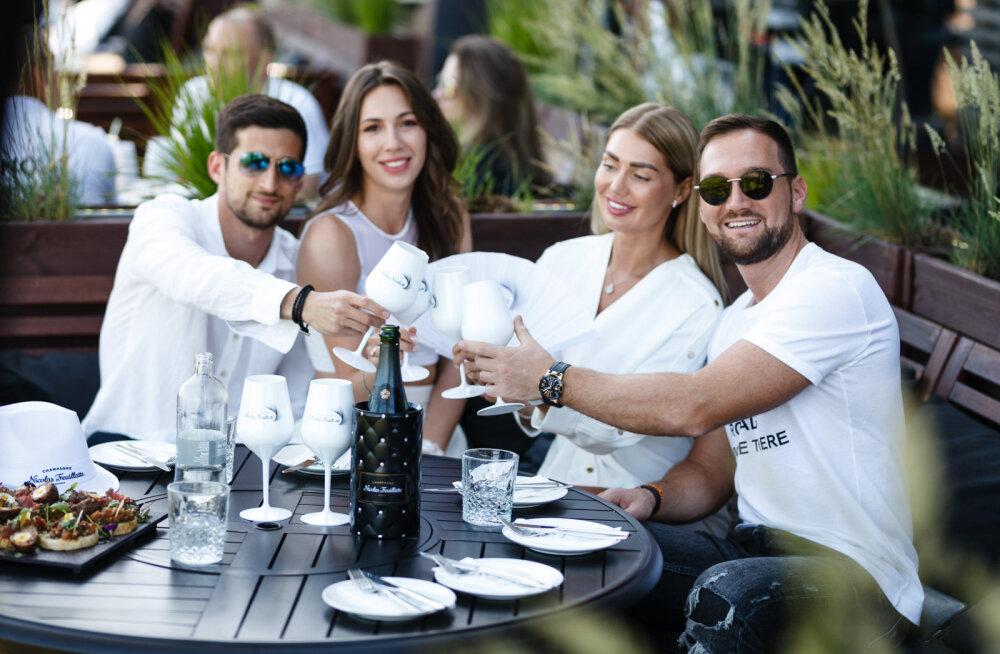 FOTOD | Šikk suveaja tervituspidu White Party, kus pidutseti hiliste öötundideni!