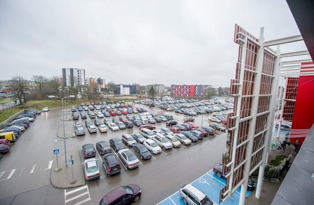 Autoparkla Kristiine keskuses