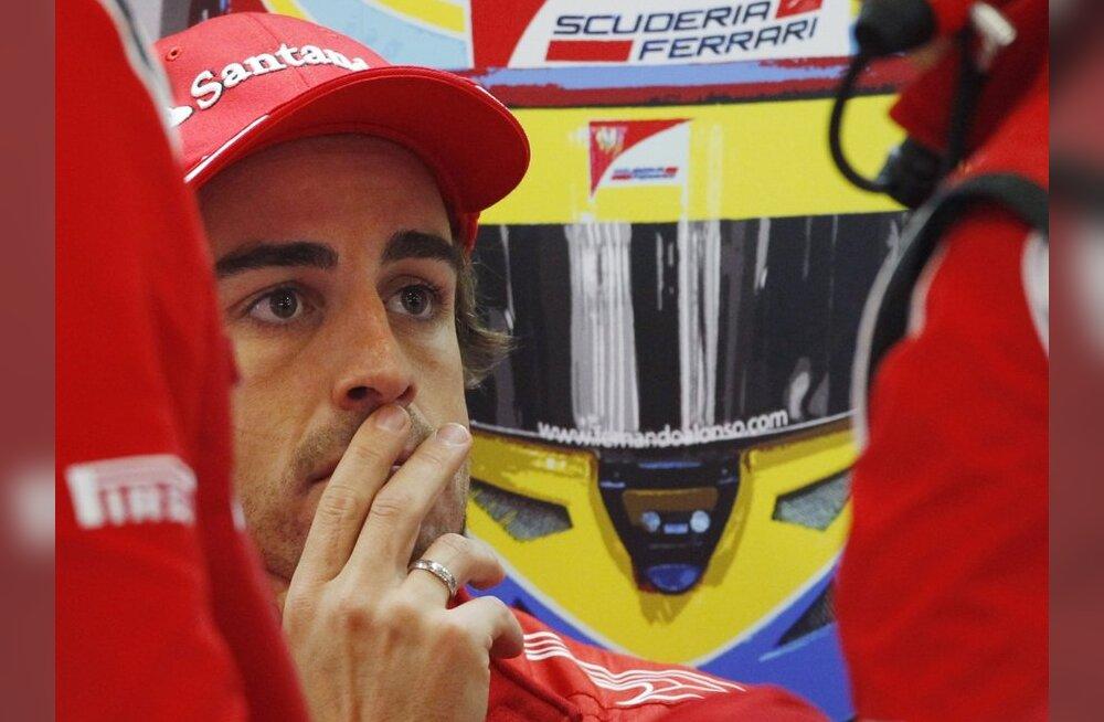 Endine mänedžer: Fernando Alonso on Ferraris väga rahul