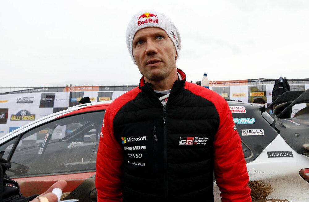 Sebastien Ogier on Toyotaga rahul: mõistsin kiiresti, kui hea auto see on