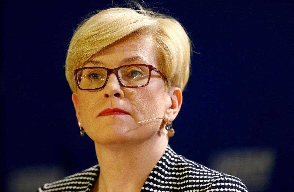 Leedu peaminister kurjustas segaduse pärast surmade statistikas: ma ei tea, kas tervishoiukeskus saab end rohkem kompromiteerida